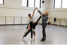 Lauren Lovette and Taylor Stanley rehearse Peter Martins' new ballet ...