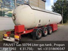 FAUVET Gas 50794 Liter gas tank , Propane LPG / GPL 25 Bar,  50 M3 Mobile Marketing, Semi Trucks, Social Networks, Social Media, Sale Promotion, Transportation, Bar, Youtube, Autos