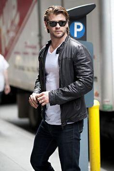 Chris Hemsworth. I died.
