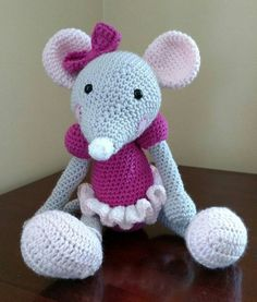 Ella Ballerina Mouse by MamaNanas on Etsy