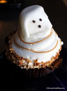 Ghost Cupcake at Boardwalk Bakery