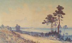 Peinture Baie d'Alger - La Baie d'Alger par Alphonse Rey