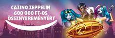 Cazino Zeppelin 600 000 FT-os össznyereményért Zeppelin, Movie Posters, Movies, Art, Art Background, Films, Film Poster, Kunst, Cinema