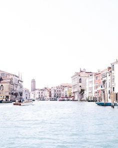 Venice, Italy Grand Canal by Beth Kirby (@local_milk) on Instagram   Venice Travel   Travel Photography   Venice water taxi