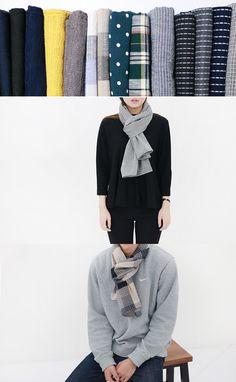 이런 작은 스톨 하나면 목이 따뜻해져요!  #남자스카프 #스톨 #머플러 #쁘띠목도리 #패션 #stole #muffler #scarf #fashion #바보사랑