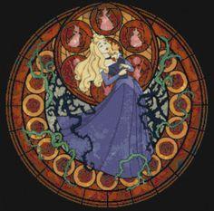 Kingdom Heart Sleeping Beauty Cross Stitch by CSDesignsbyLeah, $5.00