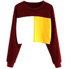 YYG Womens Plus Size Color Blocked Zip Up Loose Pullover Hoodie Sweatshirt Top