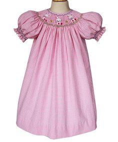 Girls bunny easter dress