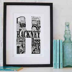 Best Of Hackney Screenprint