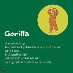 Gorilla deel 2 Helen Purperhart www. Yoga 1, Yoga Meditation, Massage, Feel Good Books, Mindfulness For Kids, Yoga School, Coaching, Relaxing Yoga, Qigong