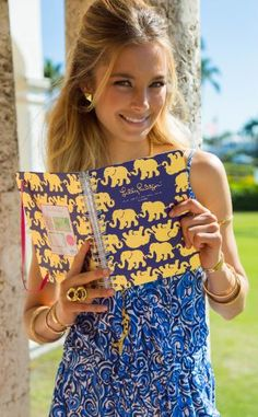 No matter if you need this as your assignment book for school, or your daily and monthly planner for your busy life, you will love your Lilly Pulitzer agenda.