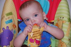 Ella's Kitchen Baby Food Pouches Review and Giveaway