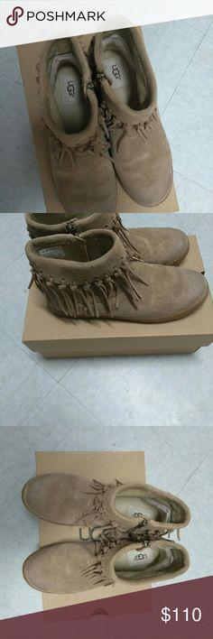 Shoes UGG Australia chestnut suede boots UGG Australia Shoes