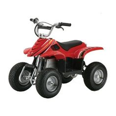Razor Dirt Quad Electric Four-Wheeled Off-Road Vehicle (Red) « AUTOMOTIVE PARTS & ACCESSORIES AUTOMOTIVE PARTS & ACCESSORIES