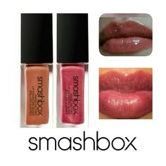 SMASHBOX LIPGLOSS DUO Smashbox Image Factory Lip Enhancing Gloss comes in 2 colors Snappy, Fab 2 x 0.17 oz. Slight shimmer, moisturizing.Brand New In Box Never Opened, used or Swatched. Images from personal stock. Price is firm. 100%authentic Let this be your go to Gloss! Wear individually or mix them together! Smashbox Makeup Lip Balm & Gloss