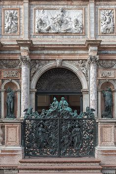 Loggetta del Sansovino, Venezia by Jacqueline Poggi on Flickr
