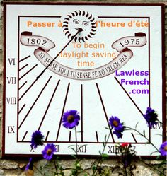 Daylight saving time starts in France this Sunday - lose an hour of sleep with the annual French expression passer à l'heure d'été. https://www.lawlessfrench.com/expressions/passer-a-lheure-dete/