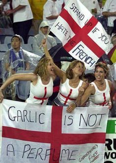 English fans vs France - Euro 2012 in Pictures.