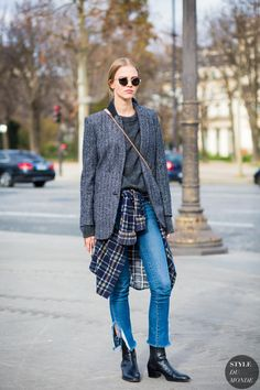 Sasha Luss Street Style Street Fashion Streetsnaps by STYLEDUMONDE Street Style Fashion Photography