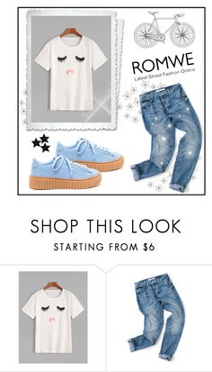 """White T-shirt"" by behijadedic ❤ liked on Polyvore featuring WALL"