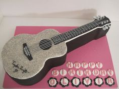 Taylor Swift Guitar Cake