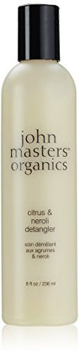 John Master Organics Detangler, Citrus/Neroli, 8 Fluid Ounce