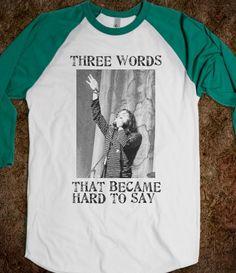 Scott ILY Avett shirt