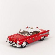 Miniatura Carro de Bombeiro - Chevrolet Bel Air 1957