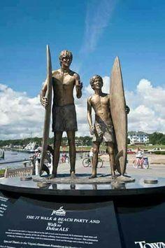 The Anion Statue At Grommet Island Park In Virginia Beach Va