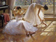 famous ballerina painting - Buscar con Google