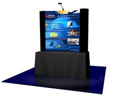 Here's how to make a #TableTopDisplay that will surely attract people during trade shows. For more information, call 1-800-597-1148