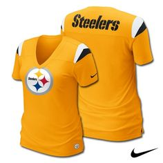 Pittsburgh #Steelers Nike Women's Fashion .... this is for my sister, Vanessa