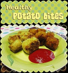 Easy Peasy Pudding and Pie!: Healthy Potato Bites