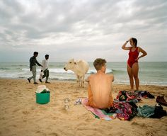 Martin Parr - INDIA. Goa. From 'Small World'. 1993