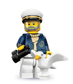 "Sea Captain -- ""Another Kraken? Let me know if you spot one with ten heads."" 