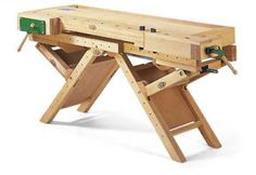 Used Woodworking Tools Portable Workbench, Workbench Plans, Woodworking Workbench, Woodworking Workshop, Fine Woodworking, Woodworking Projects, Workbench Designs, Tool Room, Tool Bench