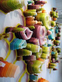 Contorneado corte láser alivio esculturas thomforsyth: | Charles Clary