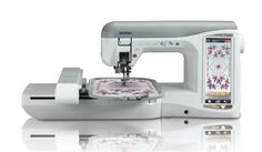I'd love to get this at the Haute Temptation Auction and Fashion Show! Prepare to be spoiled with the Duetta® advanced sewing, embroidery and quilting. This item was donated by Brother International for the live auction! Embroidery Cards, Machine Embroidery Applique, Custom Embroidery, Embroidery Machines, Disney Designs, Sewing Tutorials, Auction, Quilts, Crafts