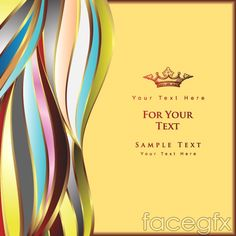 Active fashion line background vector
