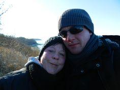 im Winter auf der Insel Rügen mit meinem Schatz