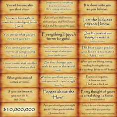 The Law of Attraction - some OF MY favourite affirmations Click--> https://www.LawofAttractionSecrets.ca