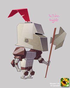 Monster Life - The Duke Knight by joslin.deviantart.com on @deviantART