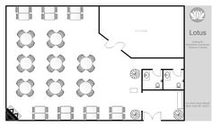 Gallery for assisted living facilities floor plans one for Commercial building design software