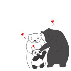 Interracial Love - this is the cutest thing ever.especially since I love pandas :)