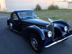 Victoire on a Bugatti