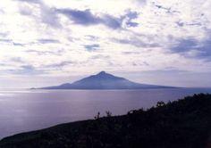 Hokkaido, Rishiri-island. Mt.Rishirifuji