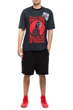 www.darktony.com Killing printed oversize t-shirt grey 32.99€