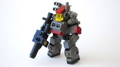 Mobile Frame Zero: Rapid Attack sounds like a Japanese game involving giant robots and, well, that's not terribly far off from the truth. Only it's not a video game, it's a tabletop game. And instead of using plastic pieces, it uses LEGO.