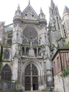 Cathedral, Senlis, France