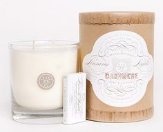 Linnea's Lights Cashmere Candle...sold at Gracie's for $34
